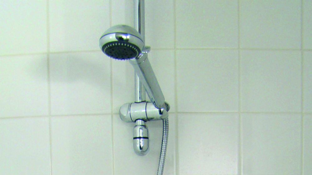 veilige douche legionella