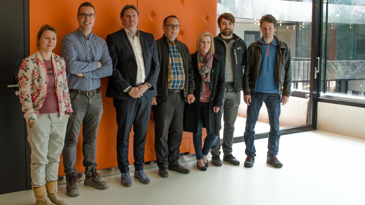 Het bouwteam WZC Hollebeek