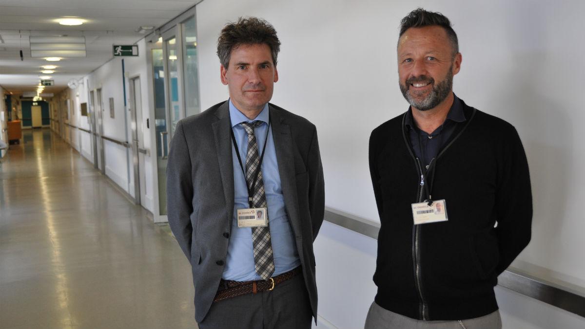 Geert Smits en Jean Paul Sion van AZ Monica