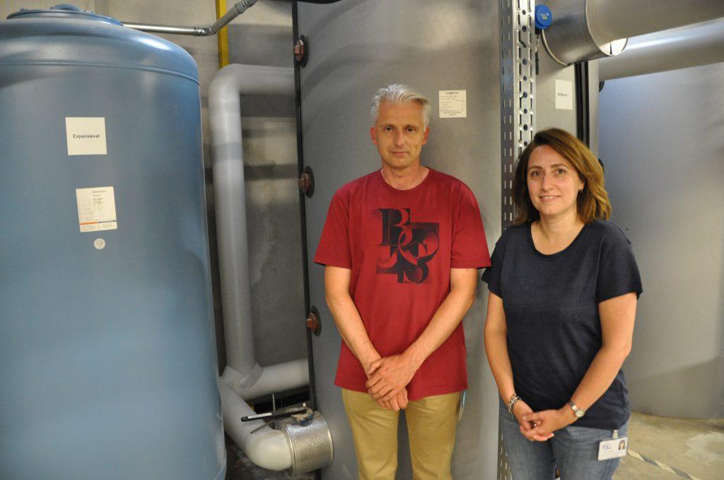 Peter Brouwers en Nicole Lipkens